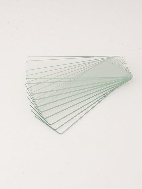 Blank Glass Slides (10 Pack)