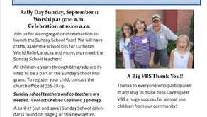 September newsletter available.