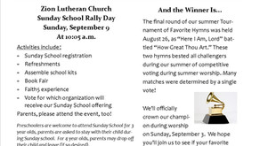 September Newsletter Is Here