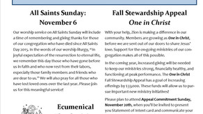 November Newsletter is available!