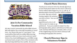 August Newsletter is Available