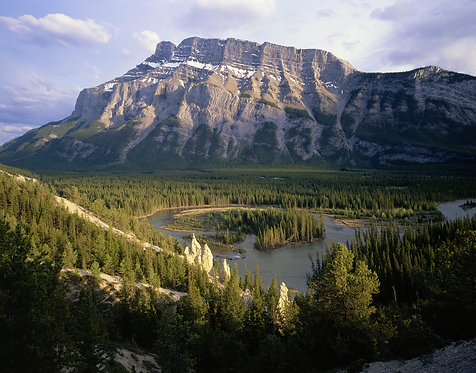 Mount Rundle & the Bow River Valley