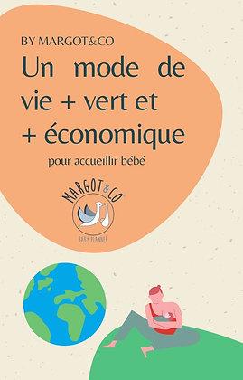 Un mode de vie + vert et + économique