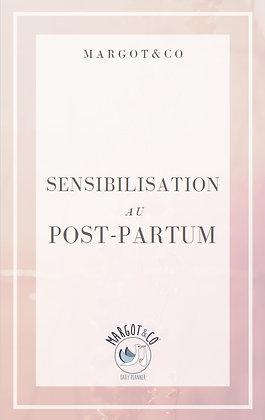 Sensibilisation au post-partum