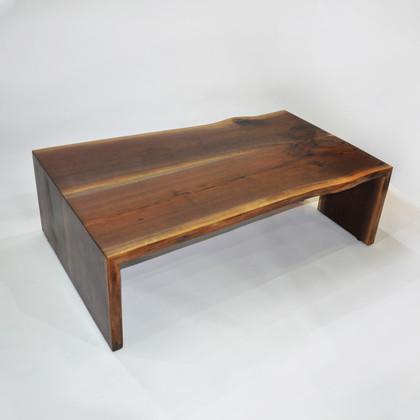 Large Walnut Coffee Table