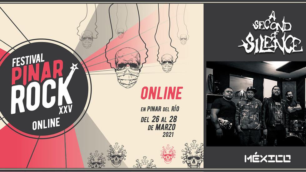 ¡De nueva cuenta en el Festival Pinar Rock!