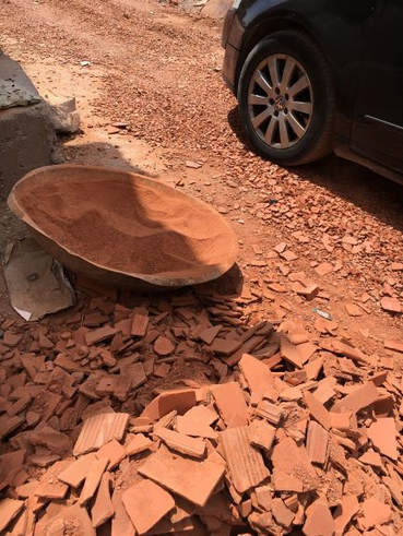 broyat de briques