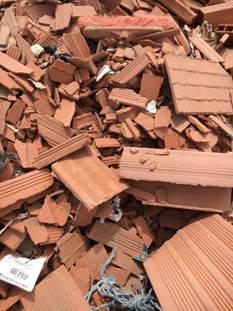 déchets de briques