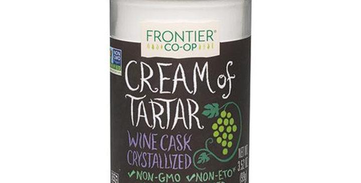 Frontier Cream of Tartar 3.52 oz.