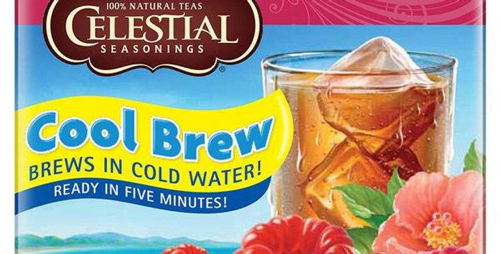 CELESTIAL SEASONINGS RASPBERRY ICE COOL TEA