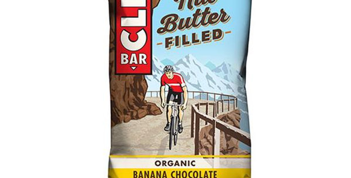 CLIF BAR BANANA CHOCOLATE PEANUT BUTTER NUT BUTTER FILLED BARS 12 (1.76 OZ.) BAR