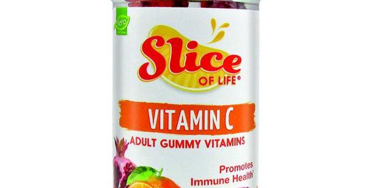 HERO NUTRITIONAL PRODUCTS SLICE VITAMIN C 60 GUMMIES