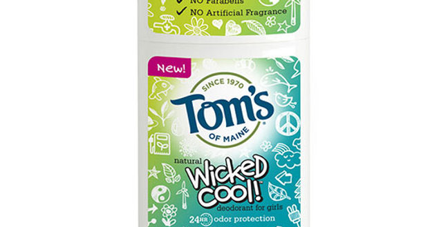 TOM'S OF MAINE GIRL'S SUMMER FUN WICKED COOL KID'S DEODORANT STICK
