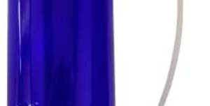 Blue Bottle with Sprayer
