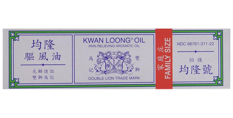 TIGER BALM KWAN LOONG OIL