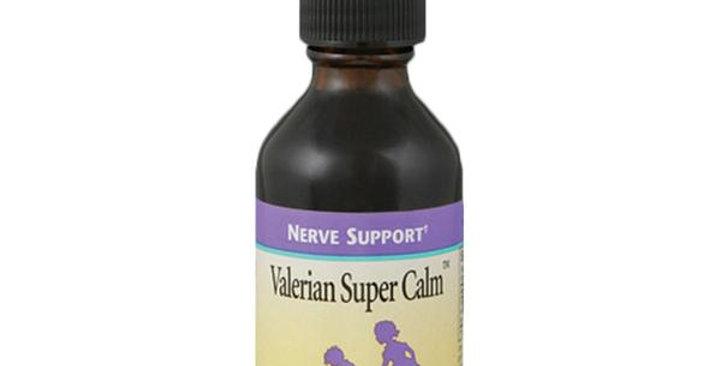 HERBS FOR KIDS VALERIAN SUPER CALM NERVE SUPPORT 2 FL. OZ.