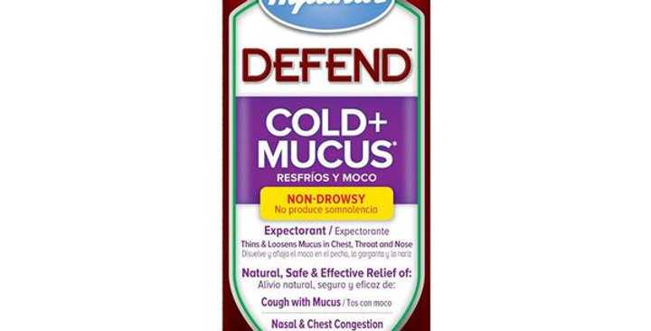 HYLAND'S HOMEOPATHIC REMEDIES COLD + MUCUS 4 FL. OZ.