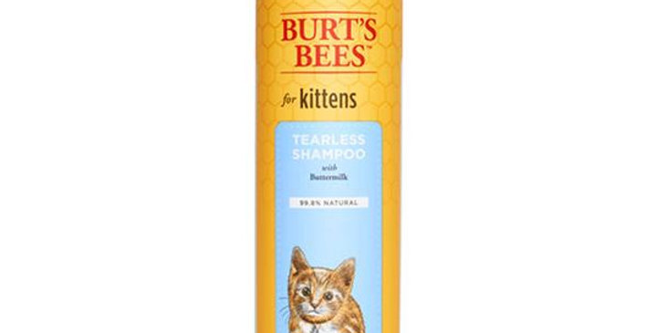 BURT'S BEES NATURAL PET CARE KITTEN SHAMPOO WITH BUTTERMILK 10 FL. OZ.