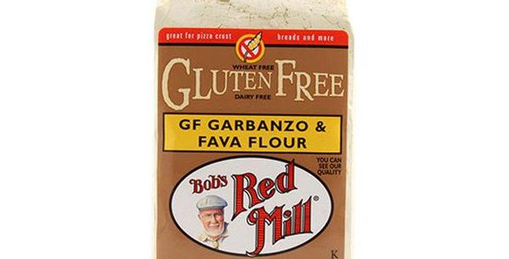 BOB'S RED MILL GLUTEN-FREE GARBANZO FAVA FLOUR