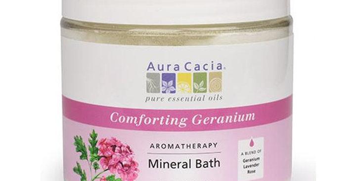 Aura Cacia Geranium Mineral Bath 16 oz.