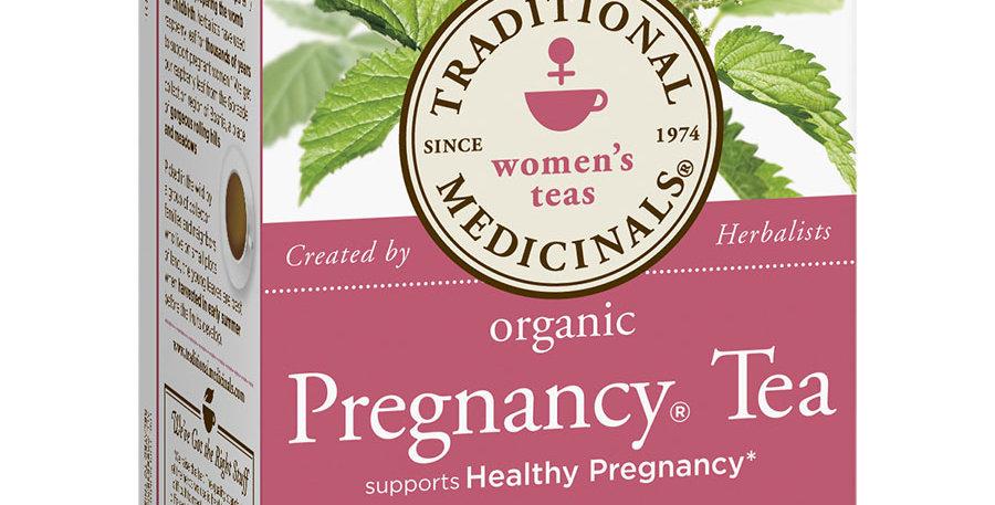 TRADITIONAL MEDICINALS ORGANIC PREGNANCY TEA 16 TEA BAGS