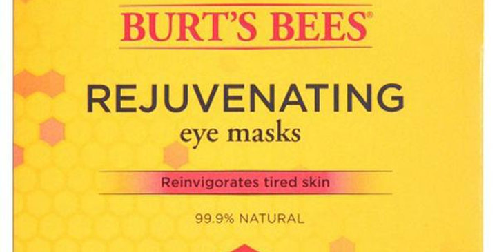 BURT'S BEES REJUVENATING EYE MASK 1 (0.02 OZ.) SINGLE USE APPLICATION