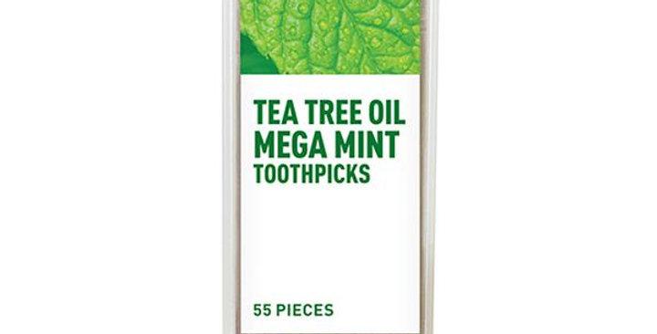 DESERT ESSENCE NEEM TEA TREE OIL TOOTHPICKS