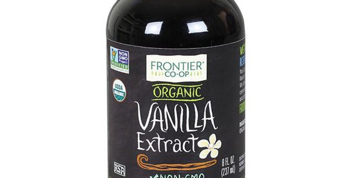 Frontier Organic Vanilla Extract 8 fl. oz.