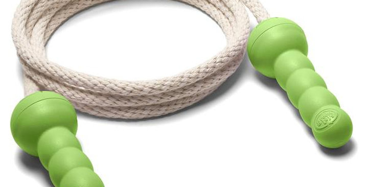 GREEN TOYS GREEN JUMP ROPE FOR 5+ YEARS