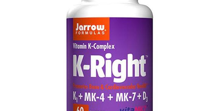 JARROW FORMULAS K-RIGHT 60 SOFT GELS