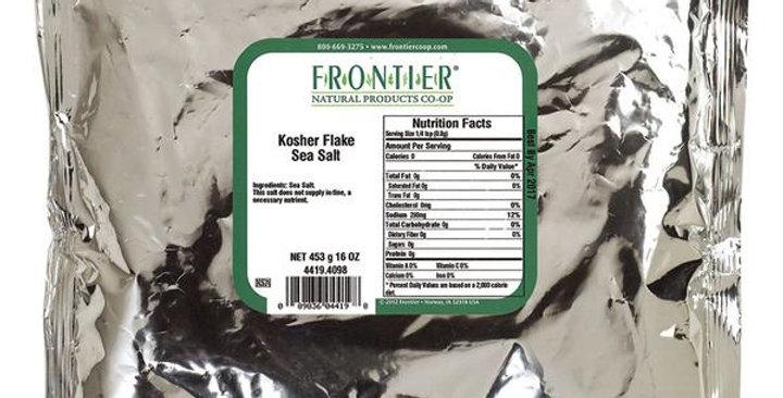 Frontier Kosher Salt Flakes 1 lb