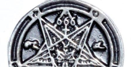 Goat Head 666 Amulet