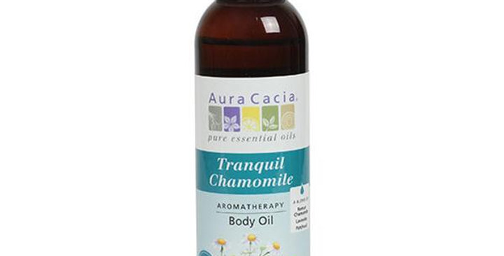 Aura Cacia Chamomile Body Oil 4 fl. oz.