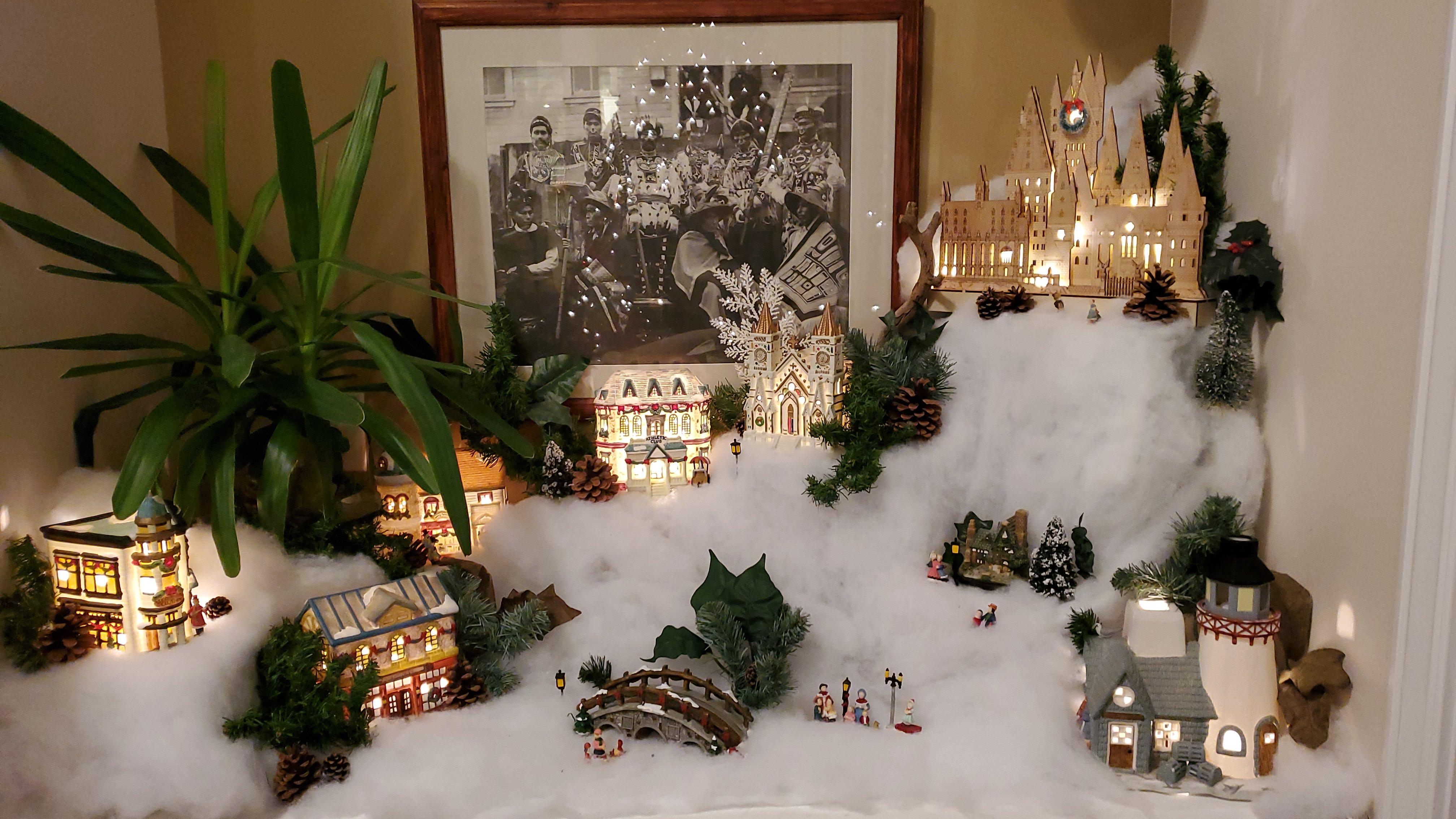 great room christmas village 2