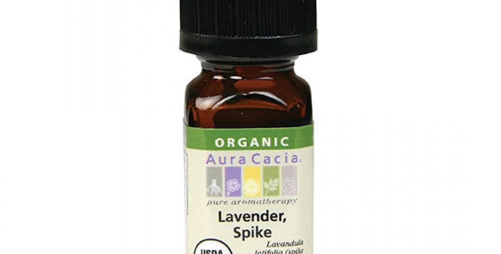 Aura Cacia Organic Spike Lavender Essential Oil 0.25 fl. oz.