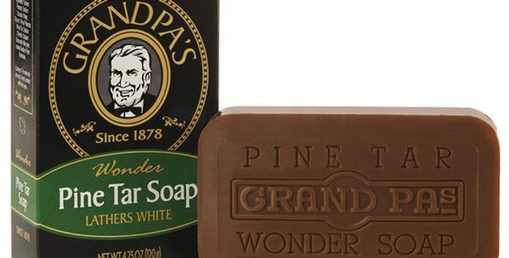 GRANDPA SOAP CO. PINE TAR BAR SOAP 4.25 OZ.