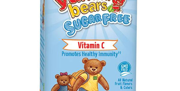HERO NUTRITIONAL PRODUCTS YUMMI BEARS SUGAR-FREE VITAMIN C 60 GUMMIES