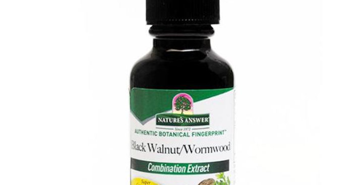 NATURE'S ANSWER BLACK WALNUT & WORMWOOD COMPLEX 1 FL. OZ.