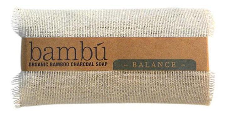Bambu Soaps Lavender + Eucalyptus Charcoal Body Bar Soap 4.5 oz.