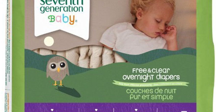 SEVENTH GENERATION STAGE 5 OVERNIGHT DIAPERS