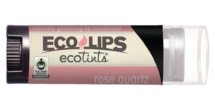 ECO LIPS ROSE QUARTZ ECO TINTS LIP MOISTURIZER 0.15 OZ.