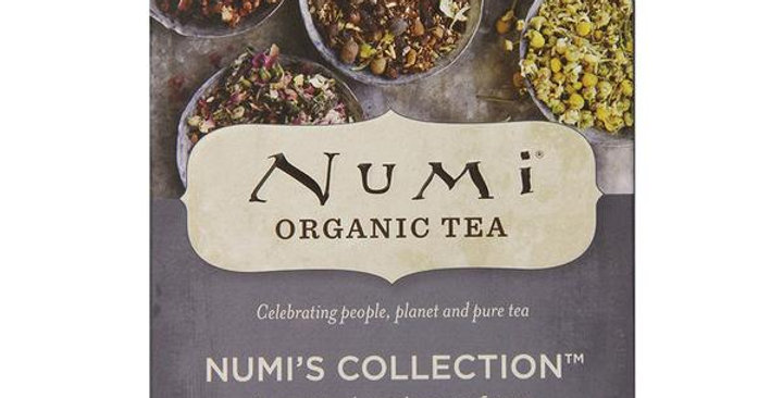 NUMI TEA NUMI'S COLLECTION 16 TEA BAGS ASSORTED