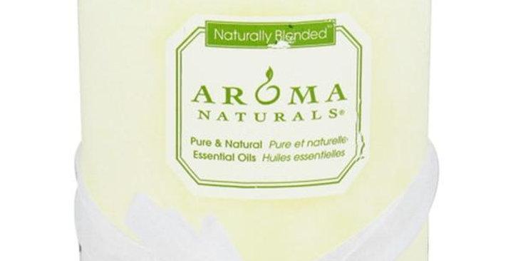 """Aroma Naturals Cool Wish Pillar 3"""" x 3 1/2"""""""