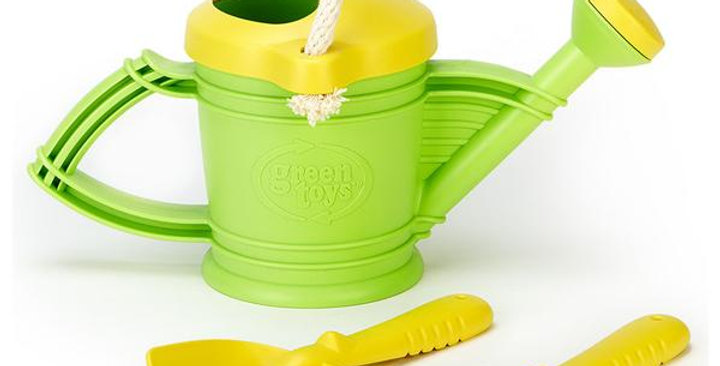 GREEN TOYS WATERING CAN SET FOR 18+ MONTHS