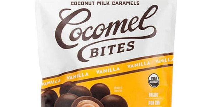 COCOMELS ORGANIC VANILLA BITES 3.5 OZ.