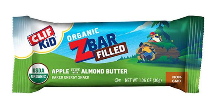CLIF BAR APPLE ALMOND BUTTER CLIF KIDS ZBARS FILLED BARS 12 (1.06 OZ.) BARS PER