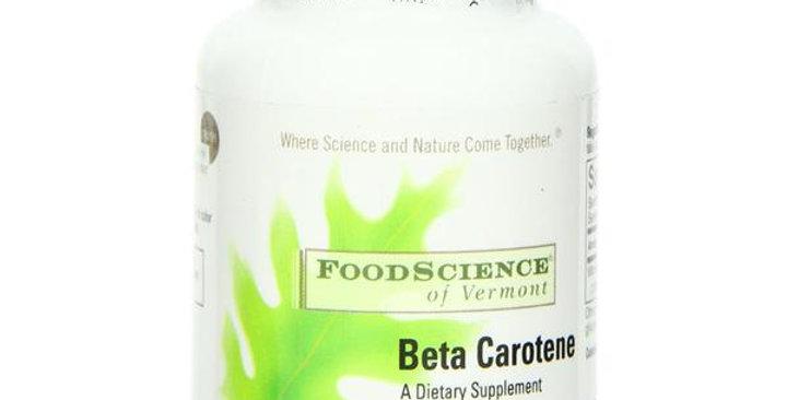 FOODSCIENCE OF VERMONT BETA CAROTENE SOFTGELS