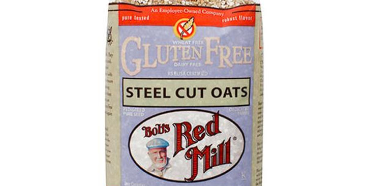 BOB'S RED MILL GLUTEN-FREE STEEL CUT OATS 4 (24 OZ.) BAGS