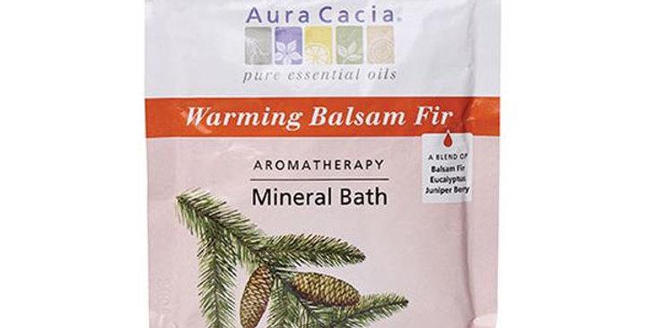 Aura Cacia Balsam Fir Mineral Bath 2.5 oz.
