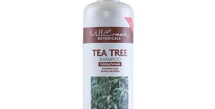MILL CREEK BOTANICALS TEA TREE SHAMPOO 16 OZ.